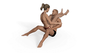 Folded Bull Sex Position