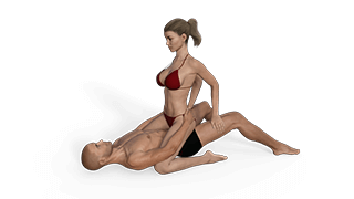 Instructional sex position