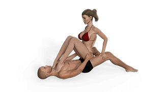 Pressed Cowgirl Sex Position