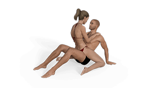 Kneeling Cradle Sex Position