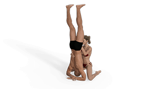 Head Stand Sex Position