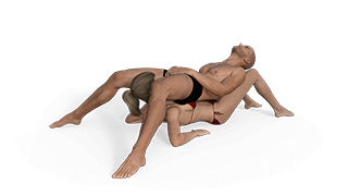 Cradled Cock Sex Position