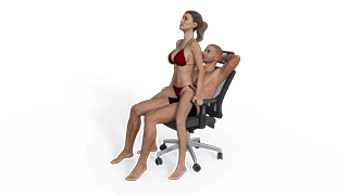 Open Lap Dance Sex Position
