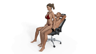 Lap Dance Sex Position