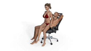 Twisted Lap Dance Sex Position