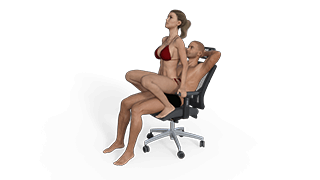 Squatting Lap Dance Sex Position