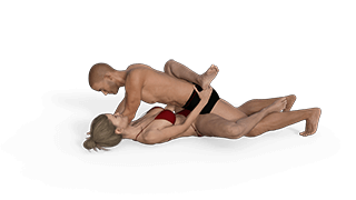Tilted Missionary Sex Position