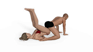 Grounded Pile Driver Sex Position