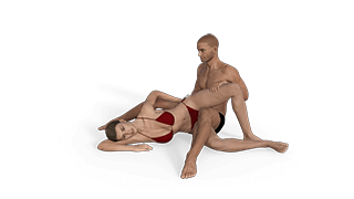 Sitting Scissors Sex Position