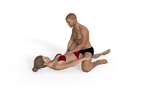 Kneeling Scissors Sex Position