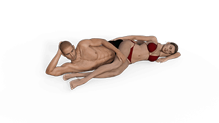Bipolar Spoon Sex Position