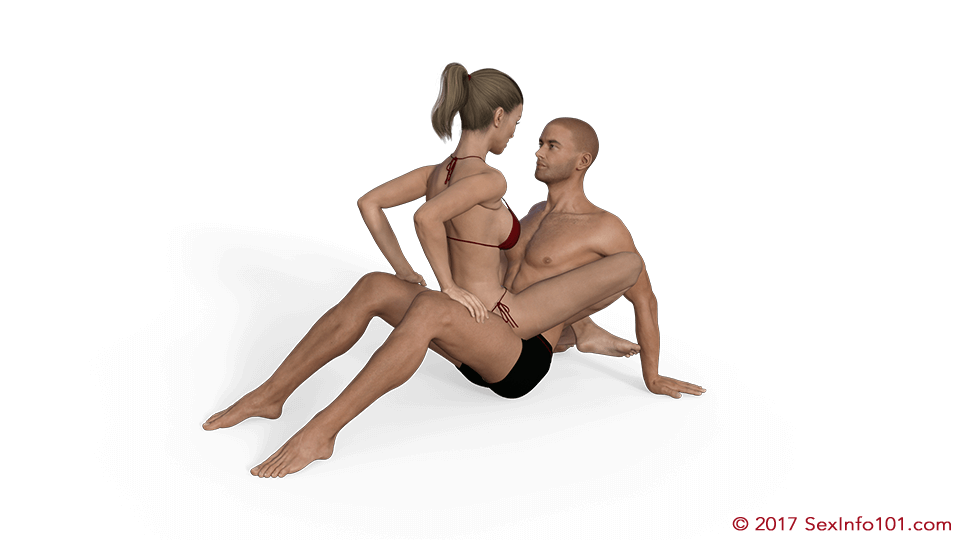 sex wrapped around their partners waist