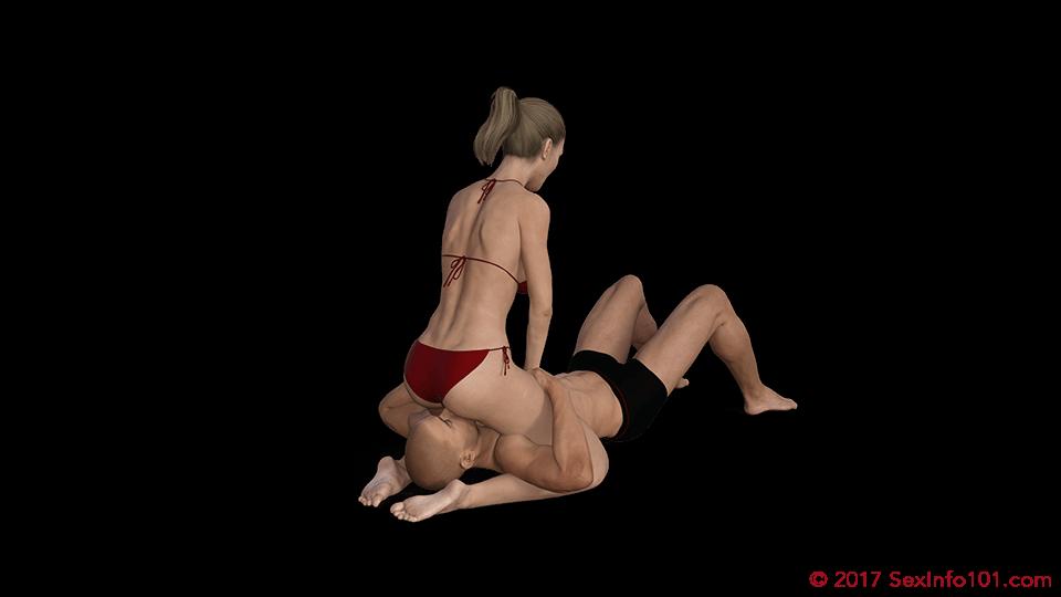 Cunnilingus sex positions illustrrated