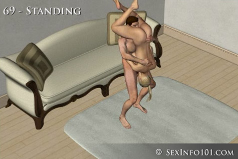 Standing 69 Sex Position