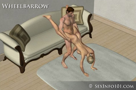 Wheelbarrow Sex Position