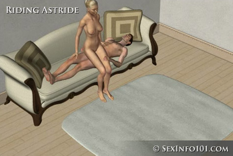 Riding Astride Sex Position
