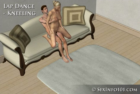 Kneeling Lap Dance Sex Position