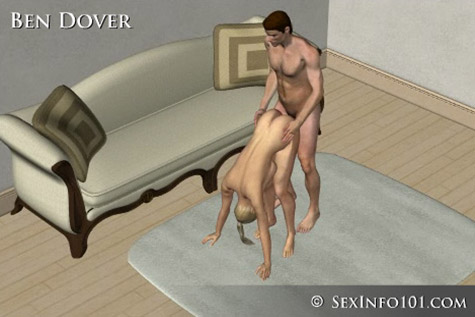 Bend Dover Sex Position
