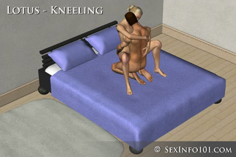 Kneeling Lotus Sex Position