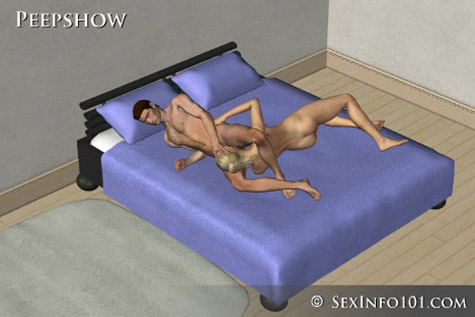 Peepshow Sex Position