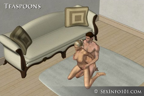 Teaspoons Sex Position