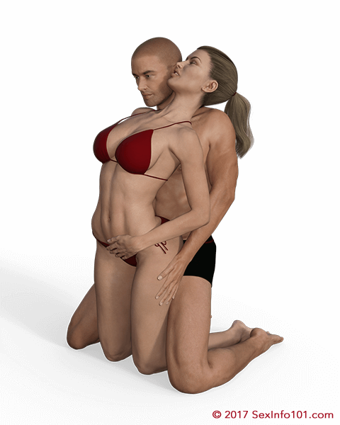 Kneeling Bodyguard Sex Position