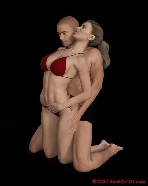 Kneeling Bodyguard Position