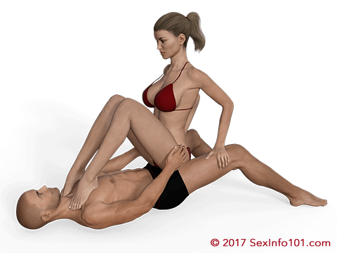 Pressed Cowgirl Position