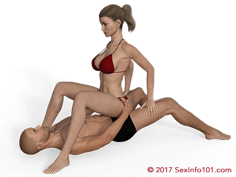 Planted Cowgirl Position