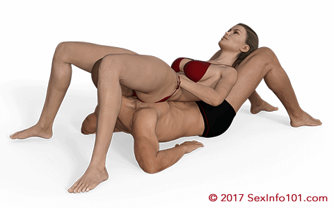 Cradled Clam Position