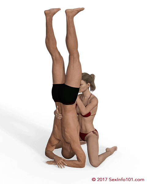 Headstand sex positions