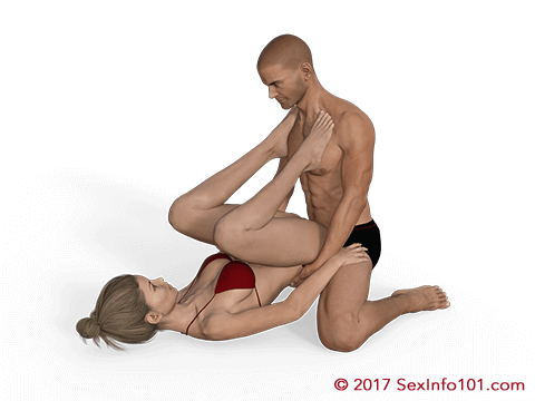 Climbing the hill sex position