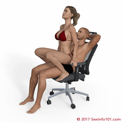 Squatting Lap Dance Position