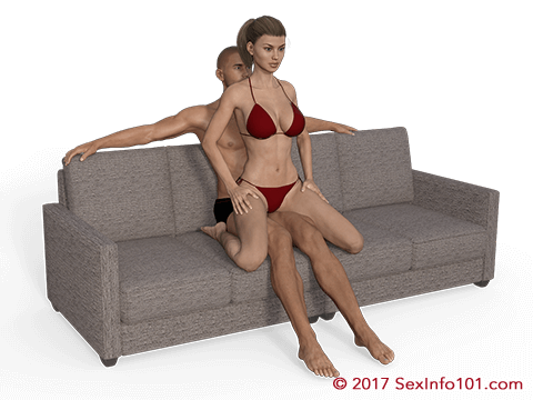 Kneeling Lap Dance Position