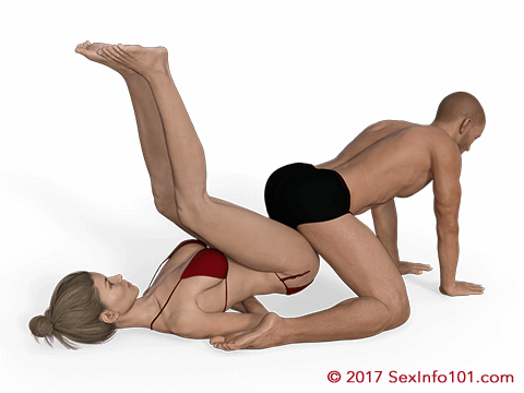 What is a piledriver sex position